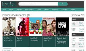 TVmaze Is Now Kodi's TV Information Provider
