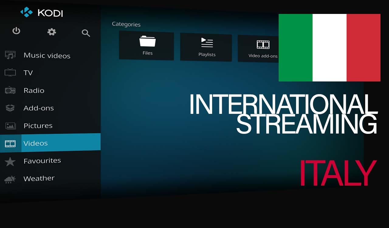 International Streams – Italian (RAI Play)