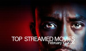Top 10 Movies Streamed – February 10, 2020