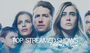 Top 10 Shows Streamed – February 18, 2020