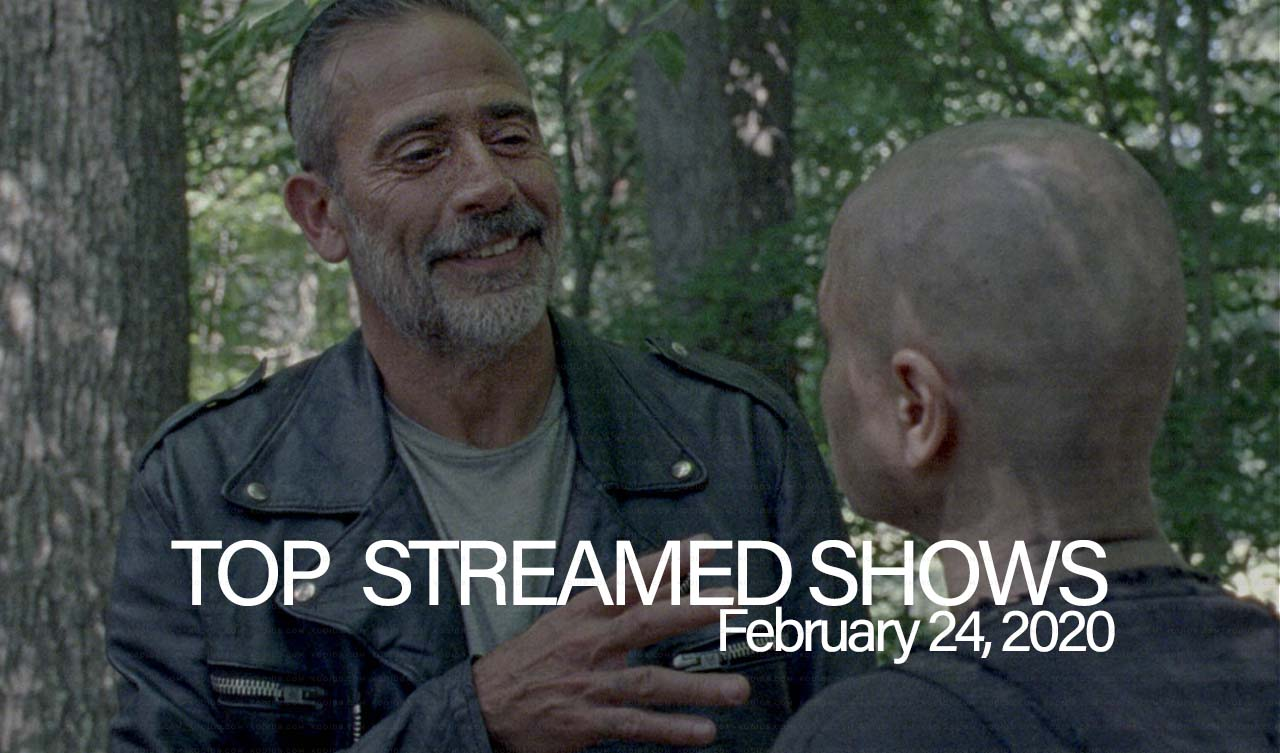 Top 10 Shows Streamed – February 24, 2020