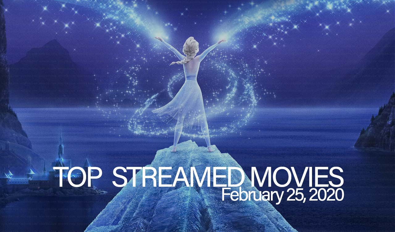 Top 10 Movies Streamed – February 25, 2020