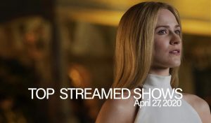 Top 10 Shows Streamed – April 27, 2020