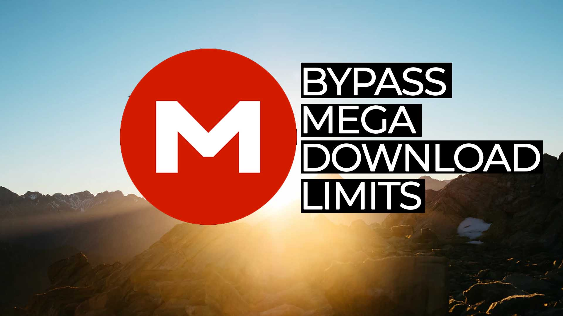 Best Way To Bypass Mega Download Limits (2021)